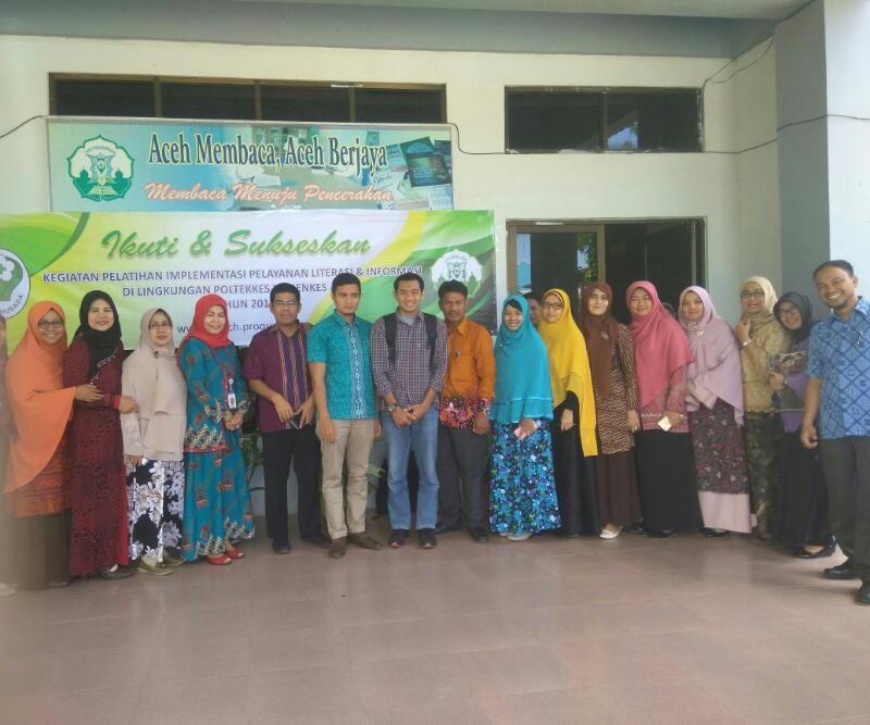 Unit Perpustakaan Terpadu Poltekkes Aceh Melanggan Proques Sebagai Jurnal Online