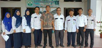 Visitasi ke Pustaka pada Akreditasi Poltekkes Kemenkes Aceh