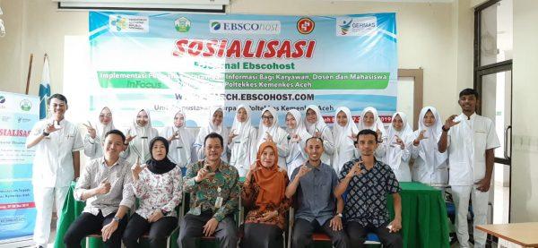 Direktur Poltekkes Kemenkes Aceh Tutup Sosialisai E-Journal Ebscohost