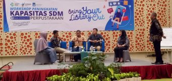 Workshop Bring Your Library Out Berlangsung  di Batam