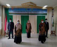 Ka Unit Pustaka Poltekkes Kemenkes Aceh di Lantik   Sebagai Pejabat Fungsional Pustakawan