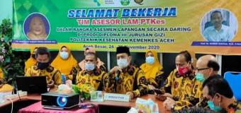 Prosesi ALD Prodi DIII Gizi Poltekkes Aceh Berakhir