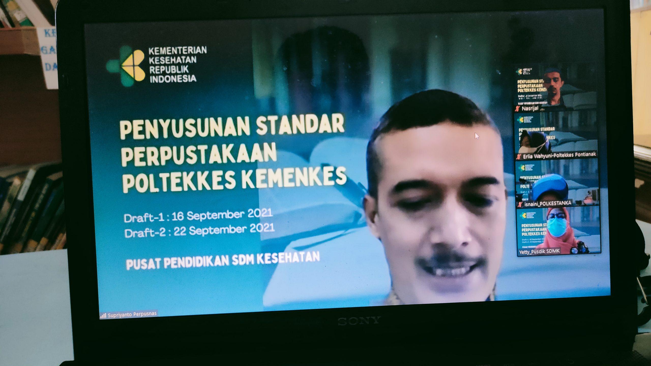 Pustaka Poltekkes Aceh Tergabung dalam Penyusunan Standar Perpustakaan Dilingkungan Kemenkes RI